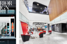 Time Inc. Headquarters featured in this Month's Interior Design Magazine!